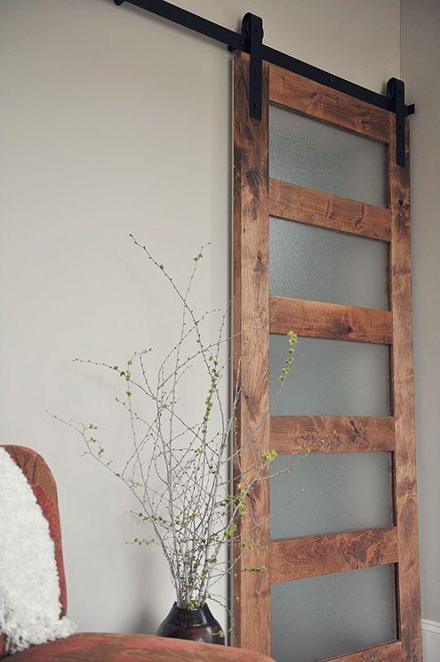 Contemporary 5 Panel Barn Door Specialtydoors Com