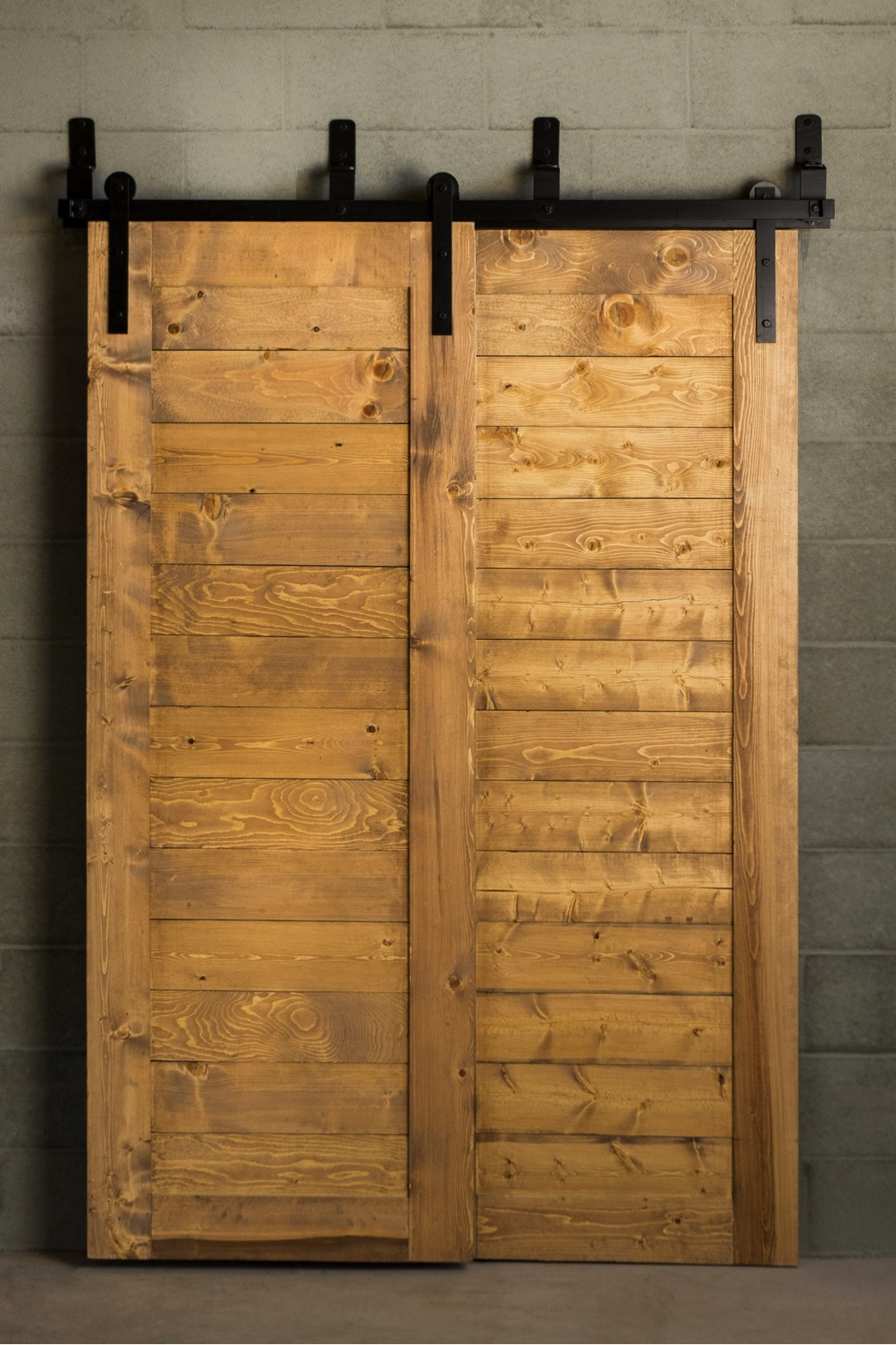 Winston Bypass Barn Door Hardware Kit Specialtydoors Com