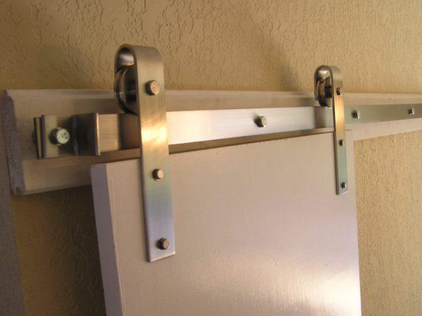 430 Stainless Steel Flat Track Hardware Kit | Barndoorhardware.com