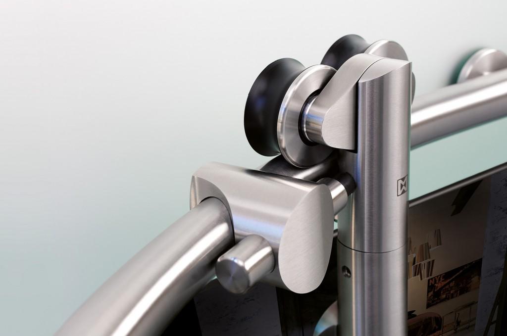 Vario Curved Modern Sliding Hardware Kit Specialtydoors Com
