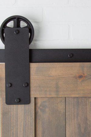 Aspen Hardware Black | Barndoorhardware.com