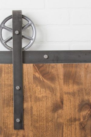 Traditional Spoked Raw Steel | Barndoorhardware.com