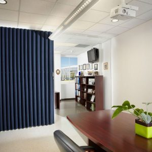 Panelfold 174 Fabricwal 174 Acoustical Accordion Partition