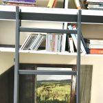 HL.502 Hook Library Ladder - Black Finish 1