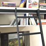 HL.502 Hook Library Ladder - Black Finish 3