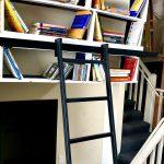 HL.502 Hook Library Ladder - Black Finish 6