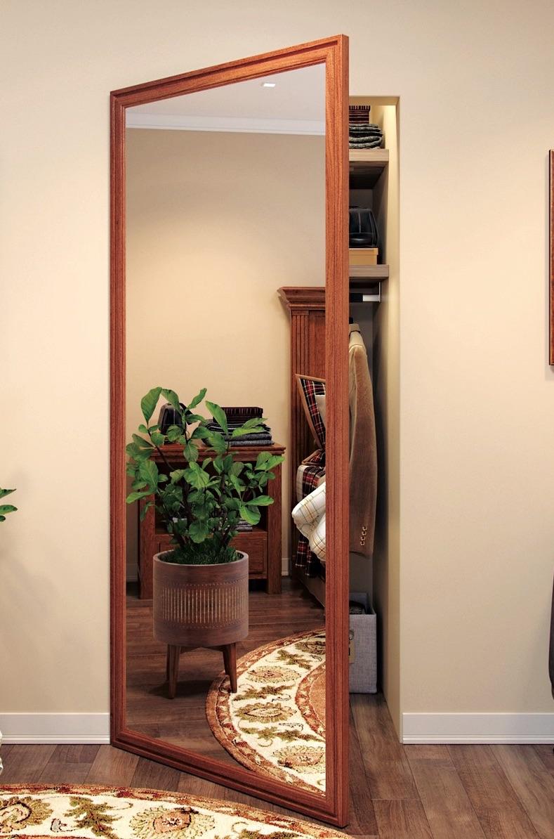Oak Fantasy Walk In Closet Door Specialtydoors Com