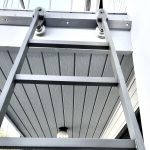 SL.501 Rolling Library Ladder - Lower View