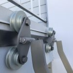 SL.501 Rolling Library Ladder - Twin Roller Closeup 4